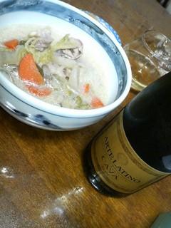 豆乳寄せ鍋とカバ.jpg
