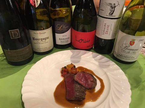 100年前のワイン会アルゼンチンと熟成肉.jpg