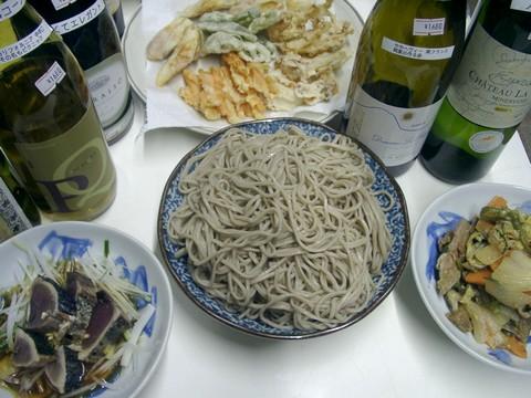 パライソ・シラー・ウェディング・ヒルと蕎麦と藁焼き鰹.jpg