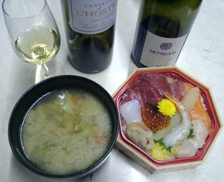 ロストブランと海鮮丼.jpg