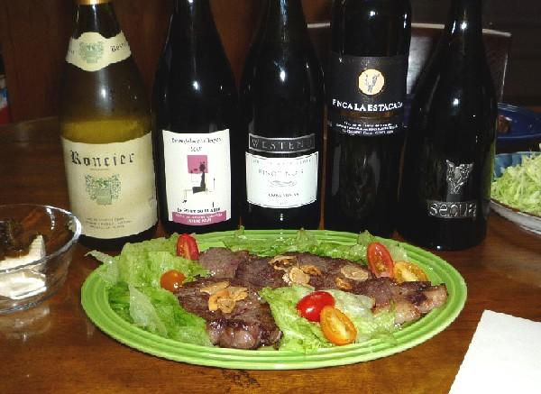 牛肉とスペイン最強赤ワイン.jpg