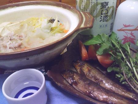 豚肉味噌鍋.JPG