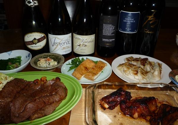 肉肉祭りとワイン.jpg