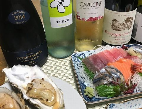 お刺身とワイン.jpg
