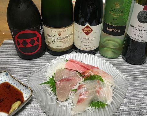 お刺身とワインJMゴビヤール.jpg