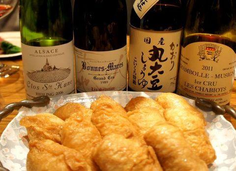 お稲荷さんとワイン.jpg