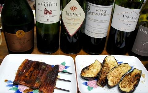 ウナギとワイン2011.7.jpg