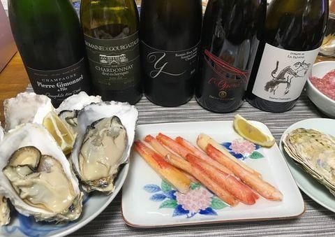 カニと牡蠣とシャンパーニュ.jpg