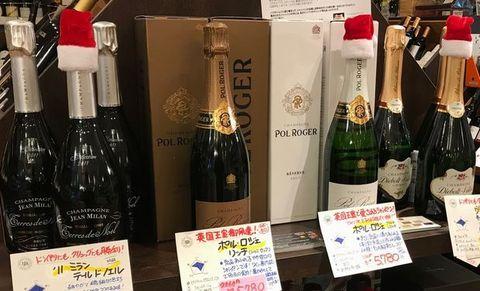 クリスマスにシャンパン♪.jpg
