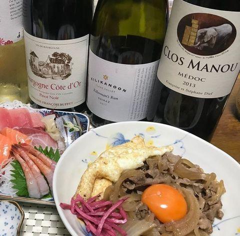 クロ・マヌーと牛すき焼き風.jpg