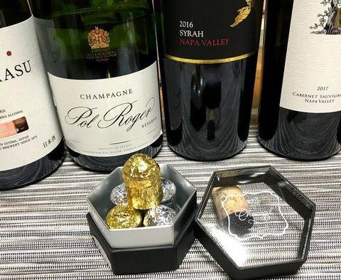 シャンパンチョコとポル・ロジェ.jpg
