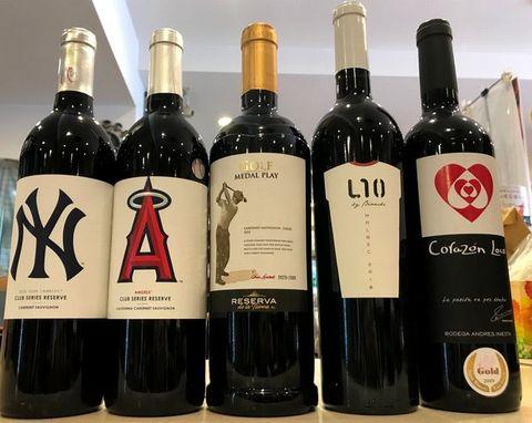 スポーツラベルのワイン.jpg