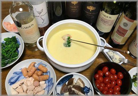 チーズフォンデュとポルトガルワイン.jpg