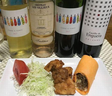 トルティーヤとワイン.jpg