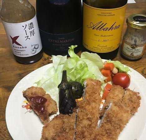 トンカツと泡&自然派ワイン.jpg