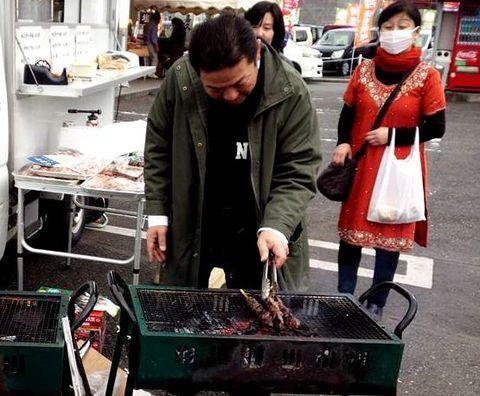 ヌーボフェスちょうちんさん牛串.jpg