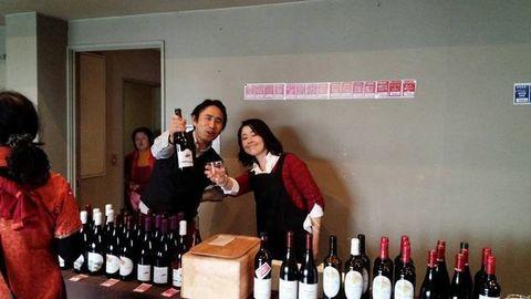 ヌーボフェスワイン二人.jpg