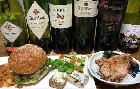 ハンバーガーとワイン2.jpg