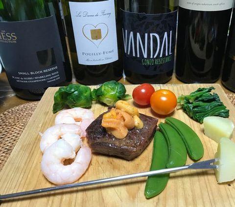 フォンデュとウニと白ワイン.jpg