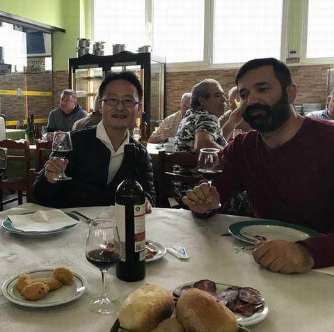 ポルトガルのレストランにて.jpg