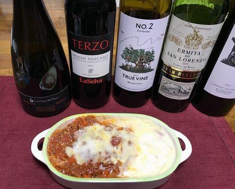 ラザニアとワイン.jpg