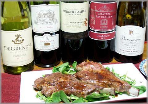 ラムチョップとワイン南アフリカ.jpg