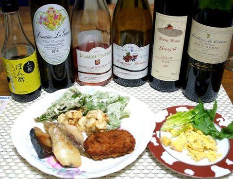天婦羅と西京漬けワインのマリアージュ.jpg