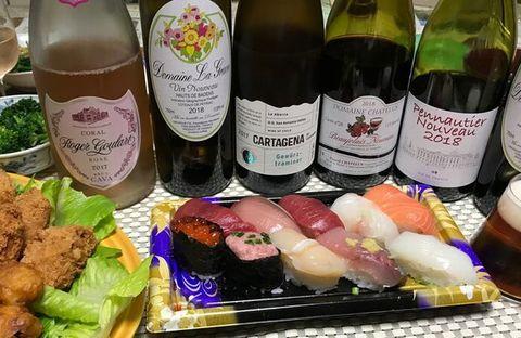 寿司とワインヌーボ.jpg