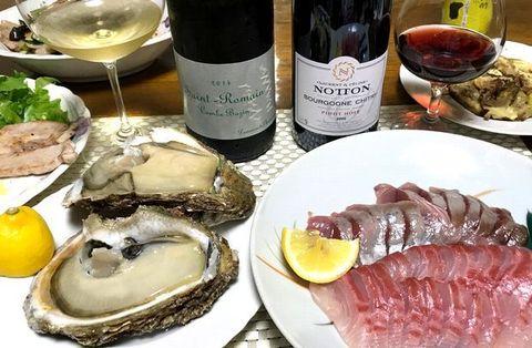 岩牡蠣とサン・ロマン.jpg