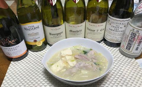 湯豆腐とブルゴーニュ.jpg