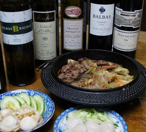 牛鍋とワイン.jpg