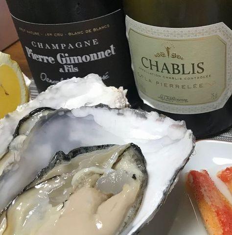 牡蠣とシャブリ、ピエール・ジモネ.jpg