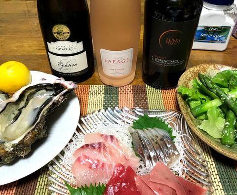 牡蠣と刺身とアスパラ.jpg