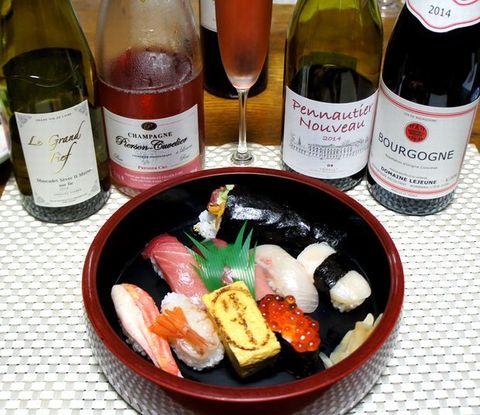 球寿司さんとシャンパンロゼ.jpg