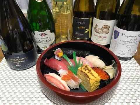 球寿司さんとワインヘイヴンズ.jpg