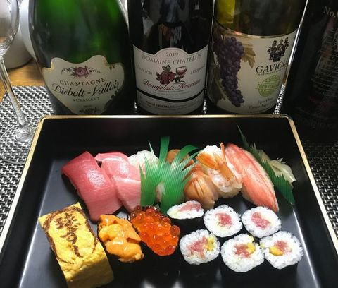 球寿司とシャンパーニュ.jpg