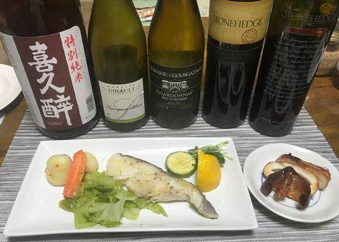 白身魚と白ワインお酒.jpg