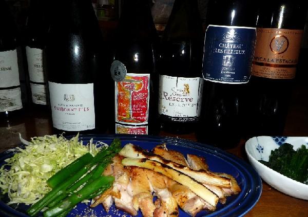 鳥のローストとワイン.jpg